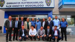 Osmancık Emniyet Müdürü, muhtarlarla güvenlik toplantısı yaptı