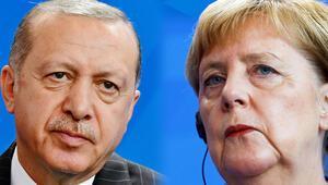 Cumhurbaşkanı Erdoğan- Merkel görüşmesi sonrası ilk açıklamalar