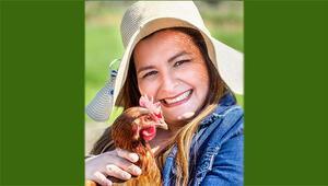 Çiftçileri dönüştüren kadın girişimci