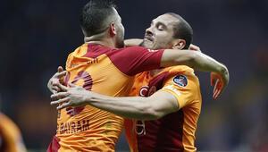 Galatasaray evinde Erzurumsporu Maicon ile geçti