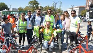 Kırşehirde bisiklet etkinliğine yüzlerce vatandaş katıldı