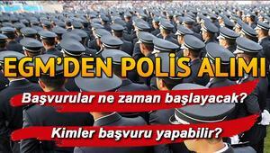 POMEM 23. dönem başvuru şartları neler 10 bin polis alımı başvuruları