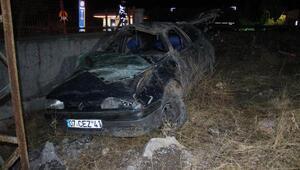Otomobil takla attı: Karı-koca öldü, üç çocuk yaralı