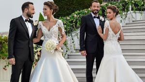 Bensu Soral, Hakan Baş evlendi İşte muhteşem düğünden kareler...