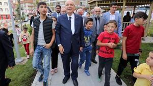 Yenimahallede Muhtar Mustafa Seyhan Parkı açıldı