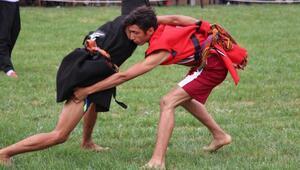 Aşırtmalı Aba Güreşi Türkiye Şampiyonası, Oğuzeli'nde başladı