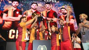 Zula International Cupın sahibi Galatasaray Espor 35 bin Dolar kazandı