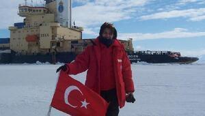 Gaziantepli bilim insanı Burcu Özsoy, Antartika'da