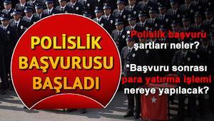 POMEM 10 bin polis alımı başvuruları Polis Akademisi tarafından başladı Polis alımı başvuru şartları neler