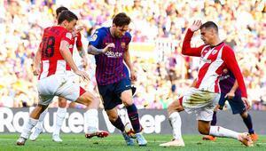 Kayıplara rağmen Barcelona