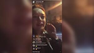 Lindsay Lohan mülteci anneden yumruk yedi