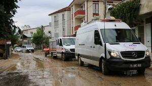 Kaynarcada selin bilançosu ağır; 147 bina ve 56 araç zarar gördü, 2 okulda eğitime ara
