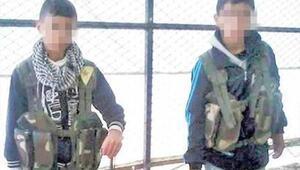 PKKdan korkunç oyun 9-10 yaşındaki çocukları...