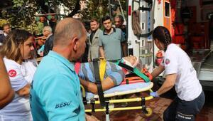 Budamak istediği ağaçtan düşen işçi ağır yaralandı