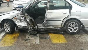 Ankara'da kaza: 1 ölü, 1 yaralı