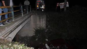 Dereye uçan otomobilde yaralı aradılar, sürücü yürürken bulundu