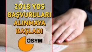 YDS başvuruları ÖSYM tarafından başlatıldı YDS başvurusu nasıl yapılır