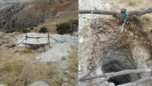 Doğanşehirde kaçak kazı operasyonu