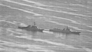 Son dakika: Amerika fotoğrafları paylaştı Çinle çarpışmaya 41 metre kala