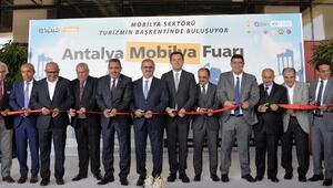 Antalya Mobilya Fuarı açıldı