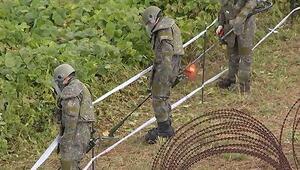 Kuzey ve Güney Kore sınırdaki kara mayınlarının kaldırılmasına başladı