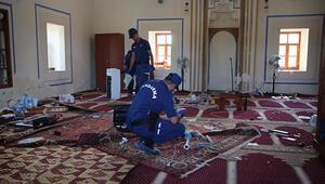 Tarihi camiye çirkin saldırı