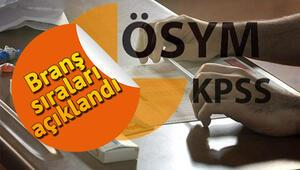KPSS 2018 lisans branş sıralaması ÖSYM tarafından açıklandı... Sıralamalar nasıl öğrenilir