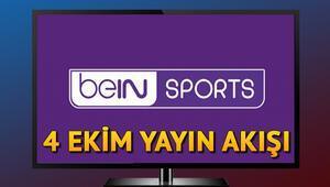 Bein Sports Haber yayın akışı bugün hangi programlar var İşte 4 Ekim Bein Sports Haber yayın akışı