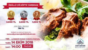 Adıyamanda, Çiğköfte festivali düzenlenecek