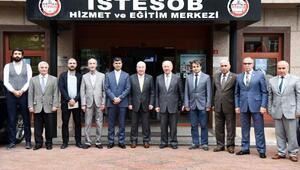 İGÜ, İstanbul Esnaf ve Sanatkârlar Odaları Birliği'ni ziyaret etti