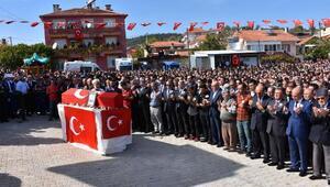 Şehit Uzman Çavuş Okan Dinçer, Balıkesirde son yolculuğa uğurlandı