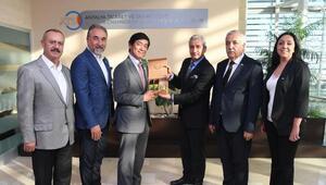 Japon Büyükelçi, ATSOyu ziyaret etti