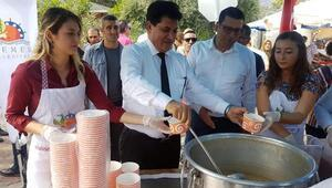 CHP İl Başkanı Kumbulun Kemer ziyareti