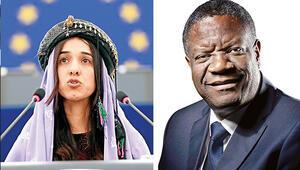 Nobel Barış Ödülü cinsel şiddetle mücadele aktivistlerine