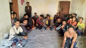 Vanda 118 kaçak göçmen yakalandı