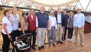 Büyükelçiler ve eşleri, Göbeklitepe ile Balıklıgölü gezdi