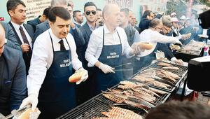 Festivalde 20 bin balık