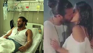 Öpüşme sahneleri Can Yamanı hastanelik etti