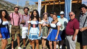 Almanya'nın ünlü OktoberFest'i 3'ncü kez Datça'da yapıldı