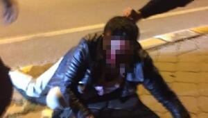 Kadını taciz ettiği iddia edilen kişiye öldüresiye dayak