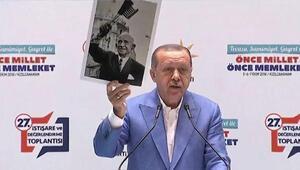 Cumhurbaşkanı AK Parti Kızılcahamam kampında konuştu