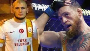 Galatasaraylı Khabib, McGregoru paramparça etti
