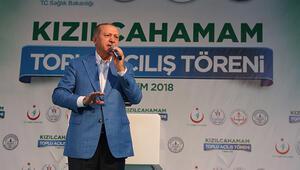 Cumhurbaşkanı Erdoğandan yerel seçim açıklaması