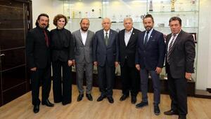 ATO meslek komitelerinden Başkan Yaşar'a ziyaret