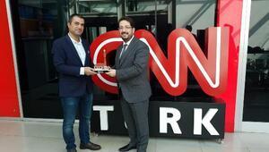 Belediye Başkanı Haluk Şahın Yazgı, ulusal medyada Aksarayı anlattı