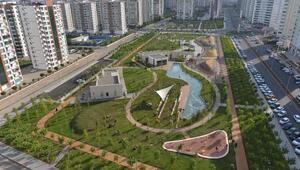 Diyarbakırda 34 bin metrekarelik Temapark hizmete açıldı