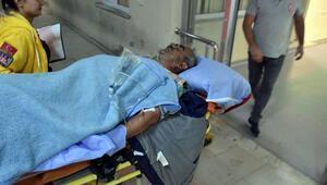 Arsa tartışmasında kan aktı: 2 yaralı