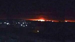Ukraynada mühimmat deposu patladı