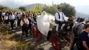 Ünlü sunucu köy düğünü yaptı