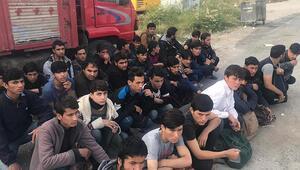 Van'da 58 yabancı uyruklu kaçak şahıs yakalandı